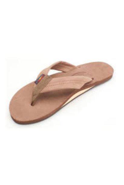 W's Dark Brown Premier Leather Single Layer, Thick Strap