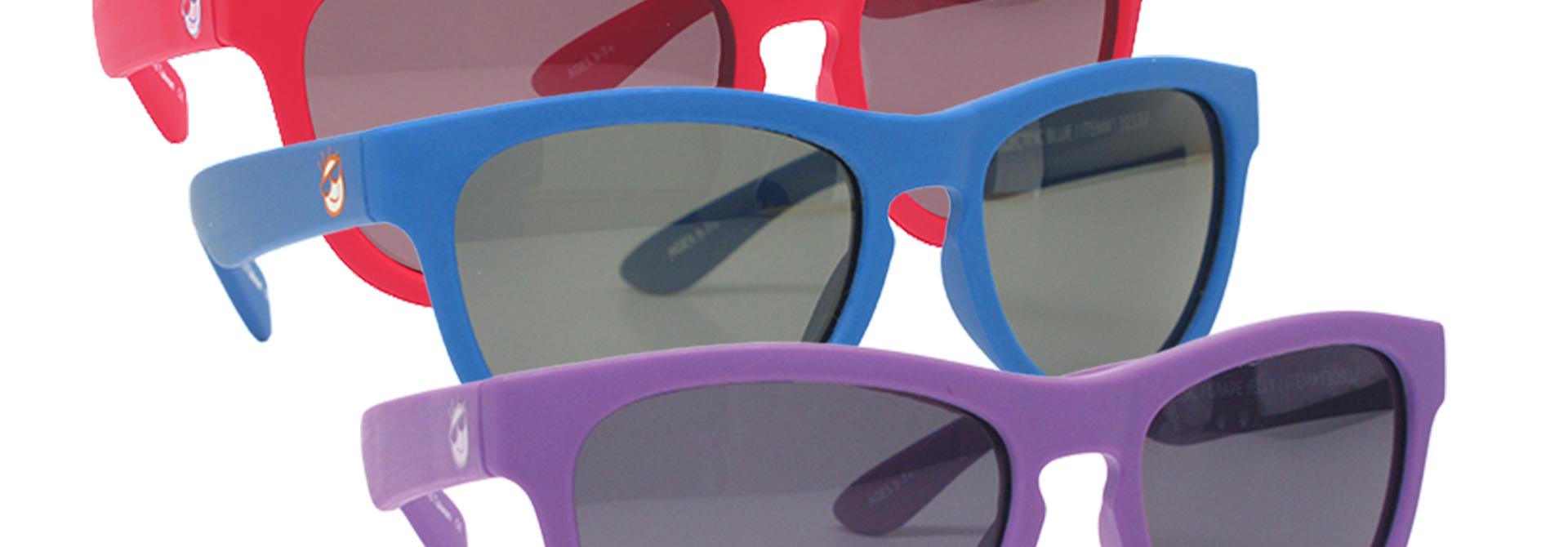K's Reflekt Polarized Classic Mini Shades, 3-7+