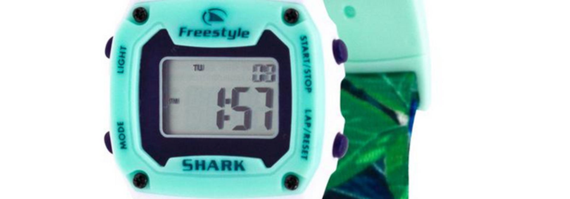 Shark Mini Clip Aloha, Paradise Green