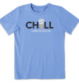 Life is Good Boy's Crusher Chill Cone, Carolina Blue