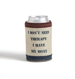 Boat Therapy Koozie
