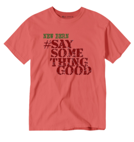 Surf, Wind and Fire New Bern Say Something Good, Unisex Tee, Watermelon