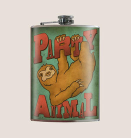 Trixie & Milo 8 oz Flask, Party Animal