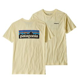 Patagonia M's  P-6 Logo Organic T-Shirt, Resin Yellow