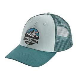 Patagonia Fitz Roy Scope LoPro Trucker Hat, Atoll Blue