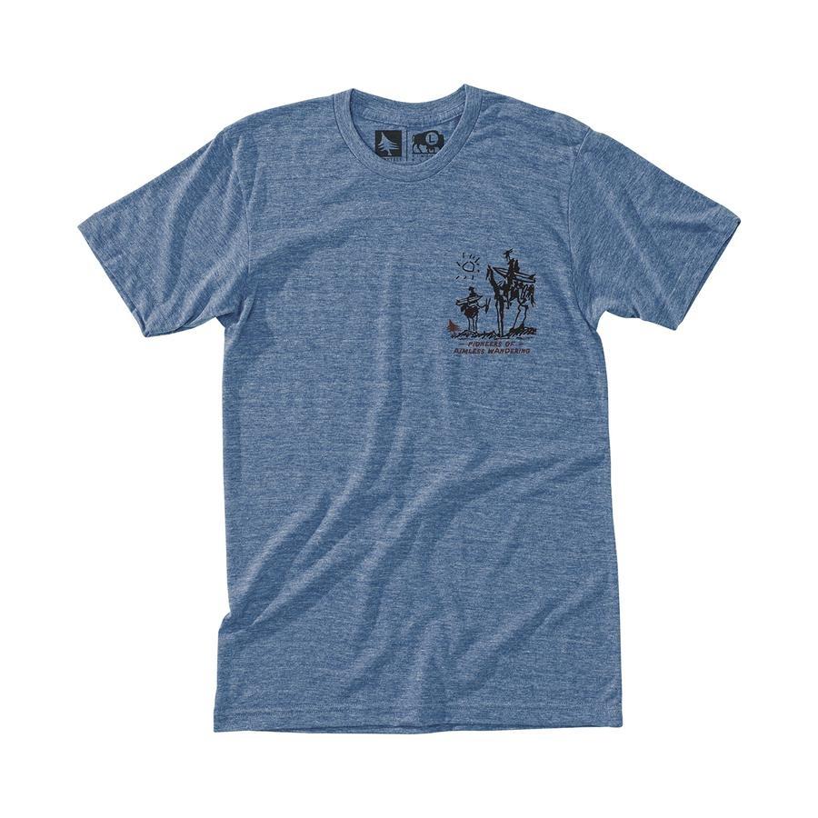 Nomad T-Shirt, Heather Light Blue