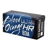 Eastern Skate Supply Blood Orange Barrel 83a, Blue Bushings Set