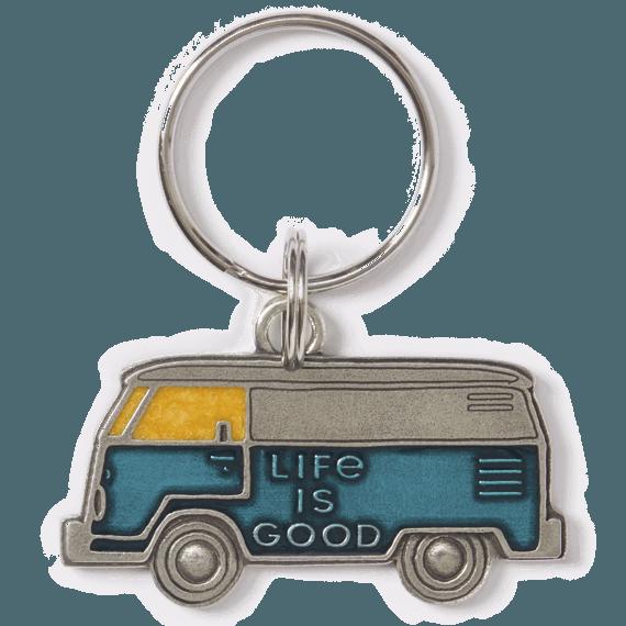 LIG Van Keeper Keyring, Aqua Blue-1