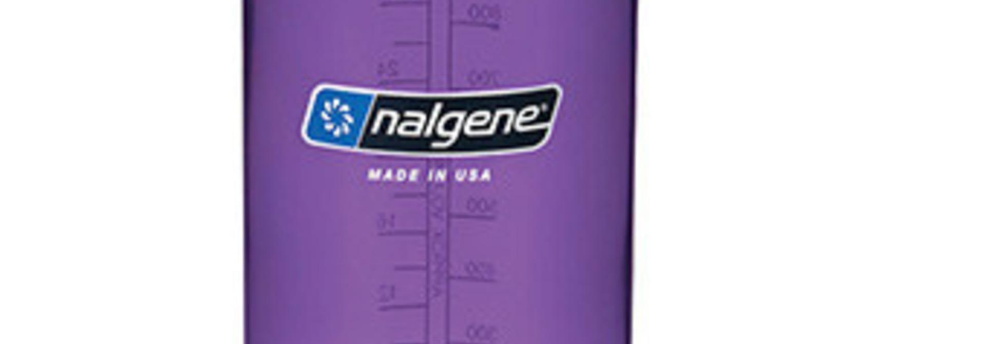 Nalgene Wide Mouth 1 qt, Purple w/White Lid