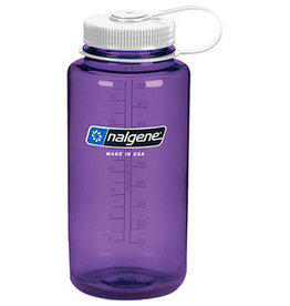 Liberty Mountain Nalgene Wide Mouth 1 qt, Purple w/White Lid