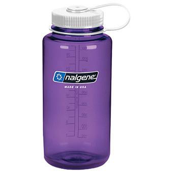 Nalgene Wide Mouth 1 qt, Purple w/White Lid-1
