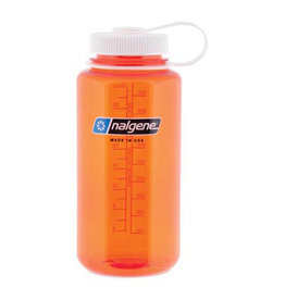 Liberty Mountain Nalgene Wide Mouth 1 qt, Orange w/White Lid