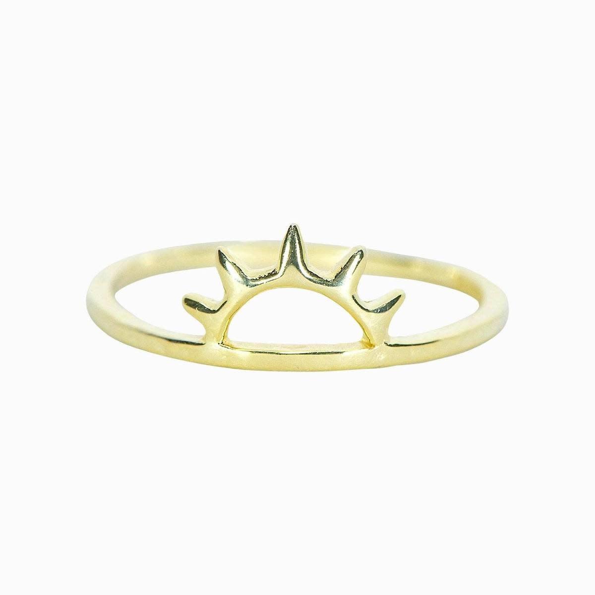 Puravida Sunset Ring, Gold