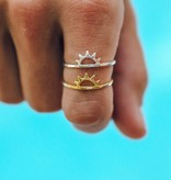 Puravida Sunset Ring, Silver