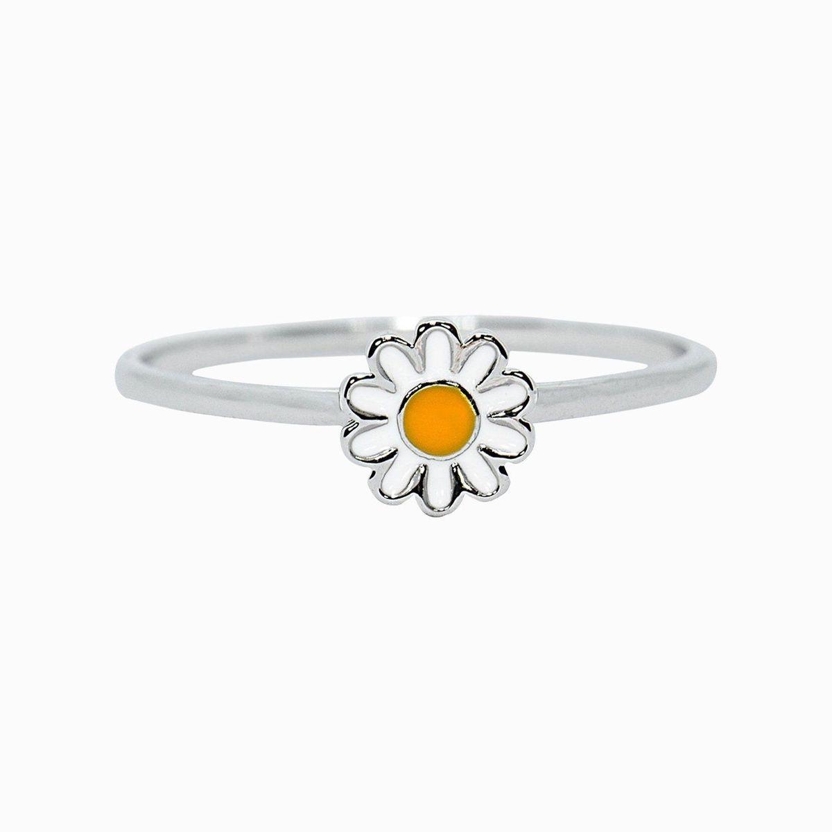 Puravida Daisy Ring, Silver