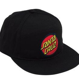 Eastern Skate Supply Santa Cruz Classic Dot Hat, Black