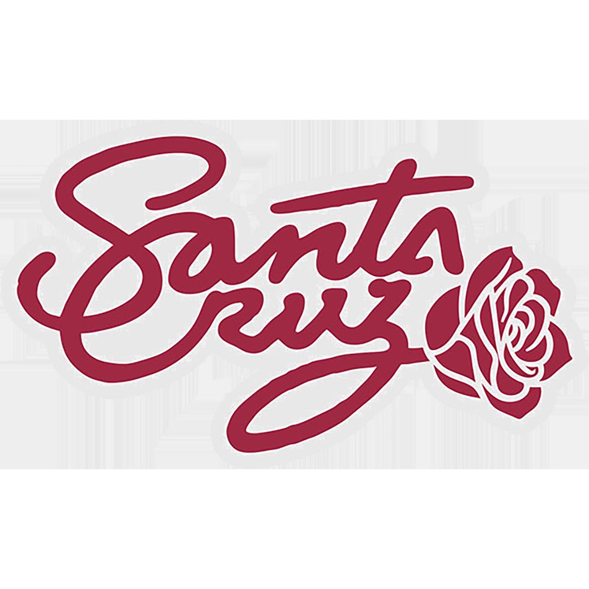 Santa Cruz Rosa Script Decal