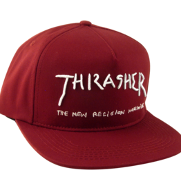 Eastern Skate Supply Thrasher New Religion Hat, Maroon