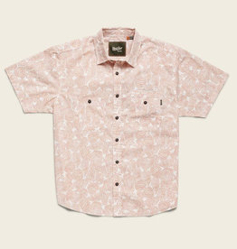 Howler Brothers M's Aransas Shirt, Prickly Pear Print: Claypot