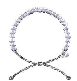 4Ocean Glass Bead Bracelet, Manatees