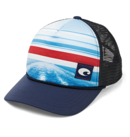 Costa Del Mar Costa Cutler Trucker Hat, Navy
