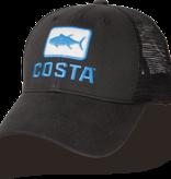 Costa Del Mar Costa Tuna Trucker Hat, Black