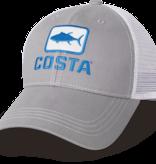 Costa Del Mar Costa Tuna Trucker Hat, Gray
