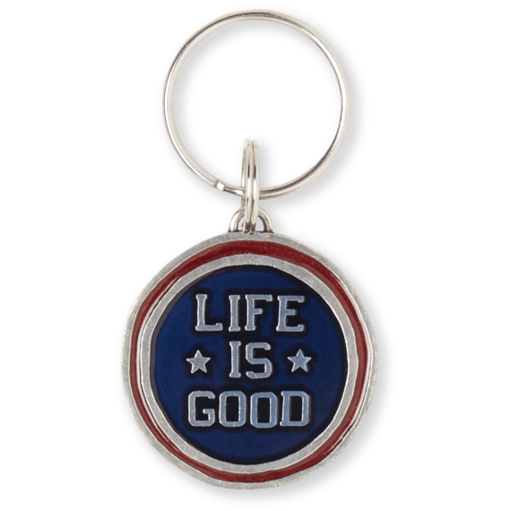 Life is Good LIG Star Coin, Keeper Keyring