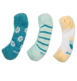 Life is Good 3-Pack W's Daisy Liner Socks