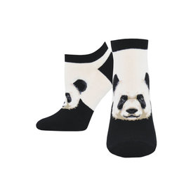 Socksmith W's No Show Pandamonium, White