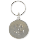 Life is Good Vibin Ripples, Keeper Keyring