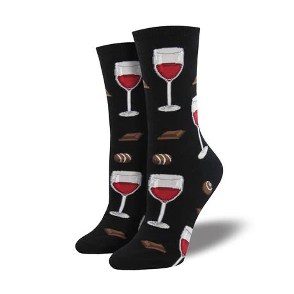 Socksmith W's Time to Wine Down, Black