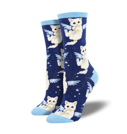 Socksmith W's Purrfect Angel, Navy