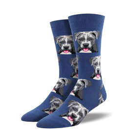 Socksmith M's Pitbull, Blue