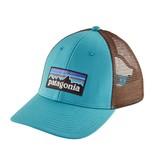 Patagonia P-6 Logo LoPro Trucker Hat, Mako Blue