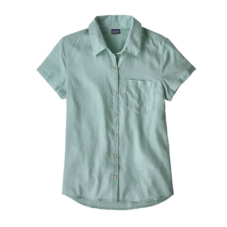 Patagonia W's LW A/C Top, Atoll Blue