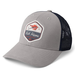 Fish Hippie Uptown Fly Trucker, Gray
