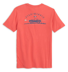 Fish Hippie Stream Seeker Tee, Clay