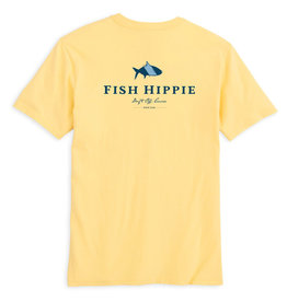 Fish Hippie Original Tarpon S/S T-Shirt, Yellow
