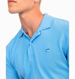 Southern Tide Skipjack Performance Pique Polo, Ocean Channel
