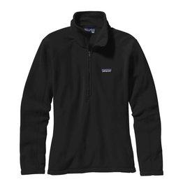 Patagonia W's Micro D 1/4 Zip, Black