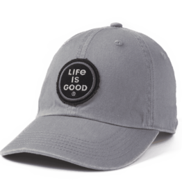 Life is Good A Chill Cap, LIG Coin, Slate Gray