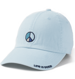 Life is Good A Chill Cap, Peace Vibes, Beach Blue