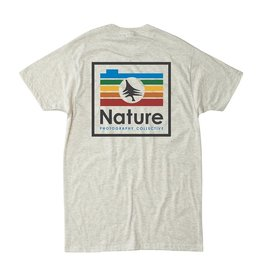 Chromatic Tee, Heather Natural