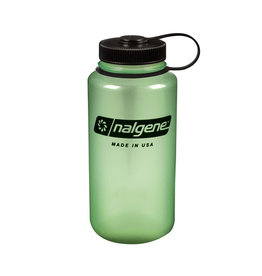 Liberty Mountain Nalgene Wide Mouth 1 Qt, Glows Green