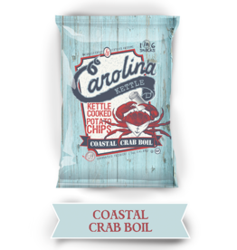 Carolina Kettle Coastal Crab Boil Potato Chips, 2oz
