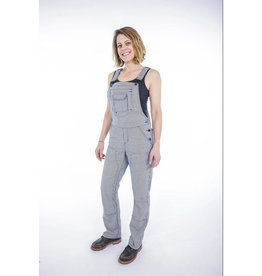 Dovetail Workwear W's Freshley Overall, Indigo Stripe