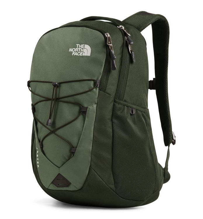 The North Face Jester Backpack, New Taupe Green Combo/High Rise Grey