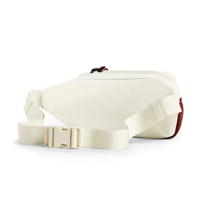 The North Face Lumbar Pack, Vintage White/Sequoia Red