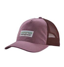 Patagonia W's Pastel P-6 Label Layback Trucker Hat, Verbena Purple
